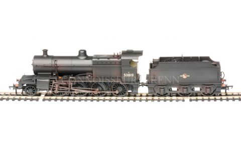 Bachmann Class 7F BR Black 53810 Late Crest Weathered 31-012