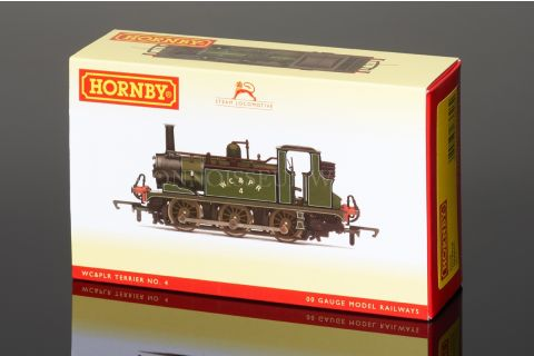 Hornby Railways WC & PLR Green Piped Livery 'Terrier' Class, 0-6-0t model R3528