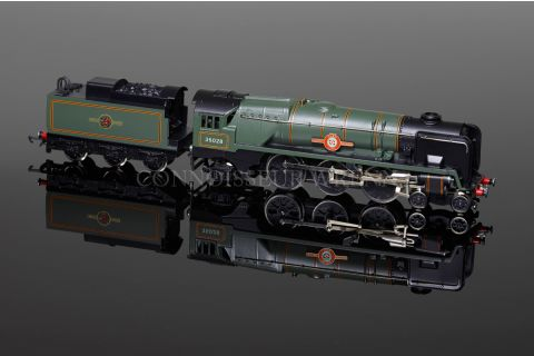 """Wrenn """"""""Clan Line"""" 1990/2 ETCHED PLATES BR Green Bulleid Pacific W2238"""