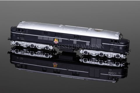 Dapol BR Black 10001GP with Chrome Fittings April 1951 - May 1954