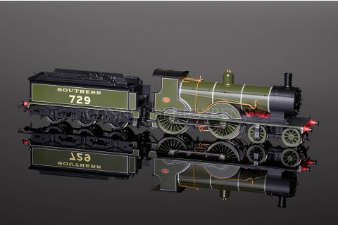 Hornby DCC READY Southern 4-4-0 Class T9 NO.729 Locomotive R2711
